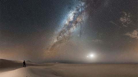 페루 사막의 우주 쇼 '2017년 최고의 야경 사진'