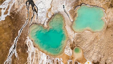 이스라엘, '죽음의 바다'에서 발견한 아름다움