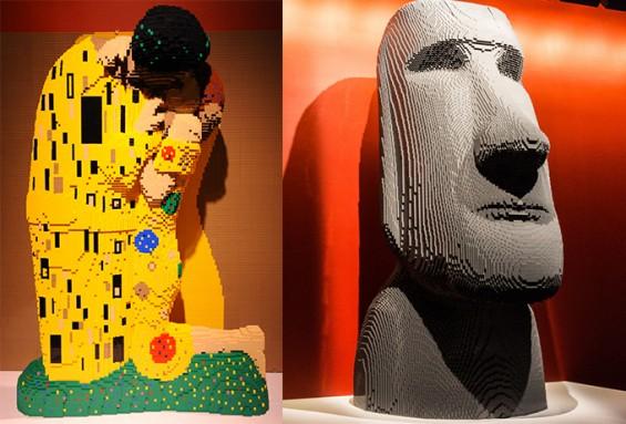 [10월 추천 과학체험] (3) CNN이 선정한 꼭 봐야 할 10대 전시, '디 아트 오브 더 브릭 <The Art of the Brick>'