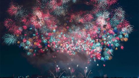 하나비, 일본의 아름다운 불꽃축제