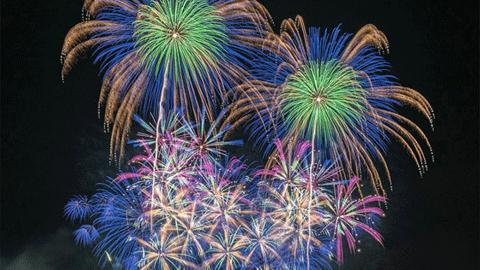 일본 최고의 불꽃놀이 사진들