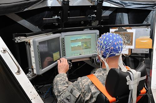 군사용 인간 뇌-기계 인터랙션(BMI) 시스템. - Army Technology Live 제공