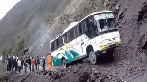 세상에서 가장 용감한 버스 기사