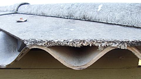 발암 물질 건설 폐기물 석면, 안전하게 처리한다