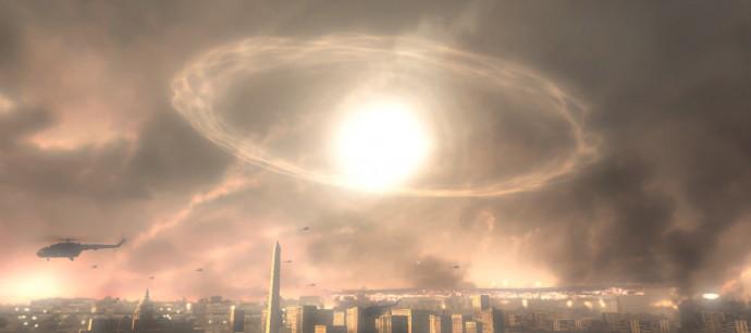 북한은 수소폭탄을 고공에서 터뜨려 고출력전자기파(EMP)를 보내는 공격을 감행할 수 있다고 발표했다. - 블랙볼트닷컴 제공