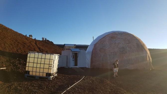 마우이 산에 건설된 문베이스 기지 - 이태식 한양대 교수 제공