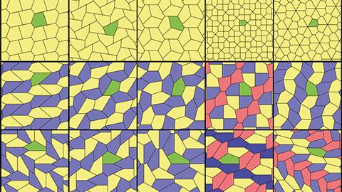오각형 테셀레이션 하는 방법은 오직 15가지!