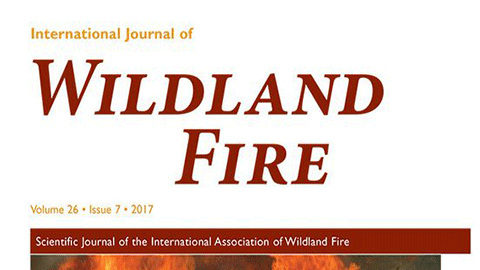 [과학을 보는 창, 저널] 국제산불저널(International Journal of Wildland Fire)