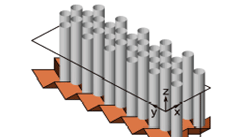 격자로 알루미늄 접어 소음 차단벽 제작
