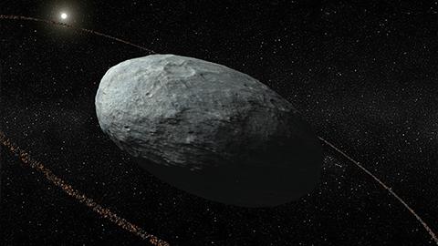 왜행성 '하우메아'서 고리 발견