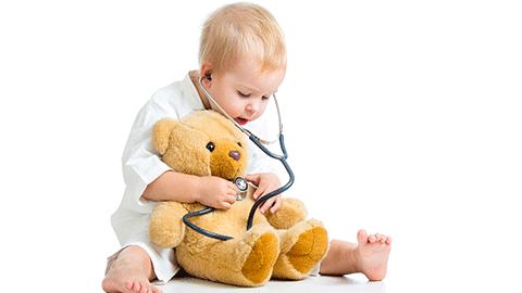 병원에 비치된 장난감을 피해야 하는 이유