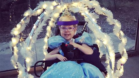 '신데렐라 마법의 휠체어를 탄 아이' 감동