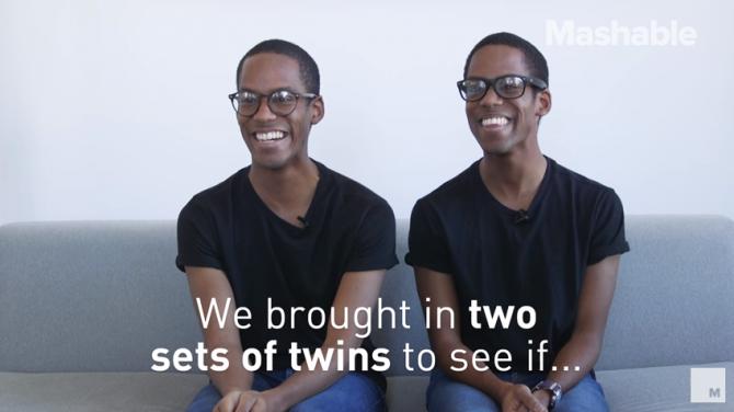 아이폰X가 똑같은 얼굴로 인식하는 오류를 일으킨 일란성 쌍둥이. - https://www.youtube.com/watch?v=e8-yupM-6Oc 제공
