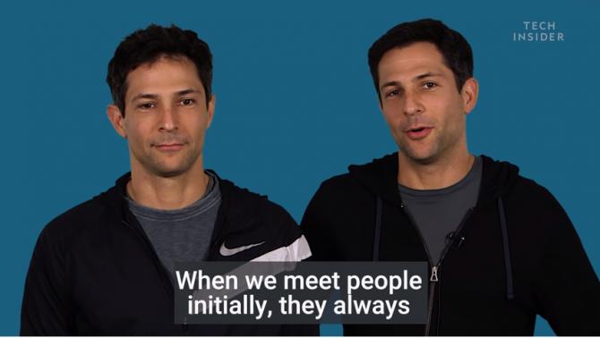 한 사람의 얼굴을 등록한 뒤, 다른 한 사람의 얼굴로 잠금 해제를 시도했으나 실패한 쌍둥이. 앞의 쌍둥이에 비해 서로 덜 닮았나요? - https://www.youtube.com/watch?v=rFoSPZBHsmE 제공