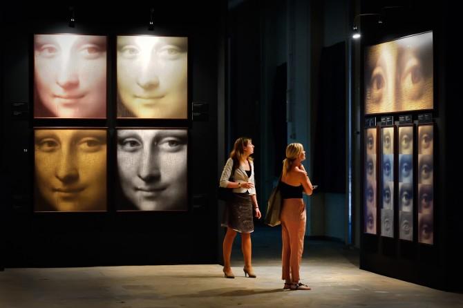 다빈치 얼라이브: 천재의 공간 전시중