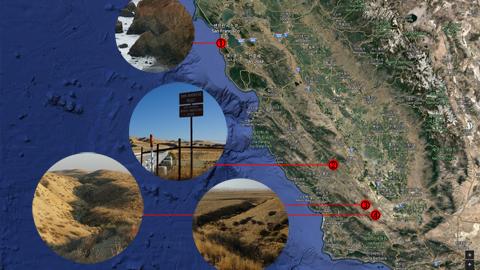 판 구조론의 현장 샌 안드레아스 단층, 그 거대한 힘을 목격하다