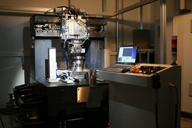 국내 연구진이 공동 개발한 초정밀 절삭가공장비 - 한국생산기술연구원 제공