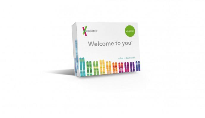 게놈 해독 진단키트 - 23앤드미 제공
