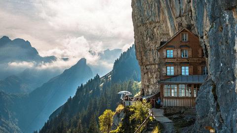 스위스 절벽 호텔