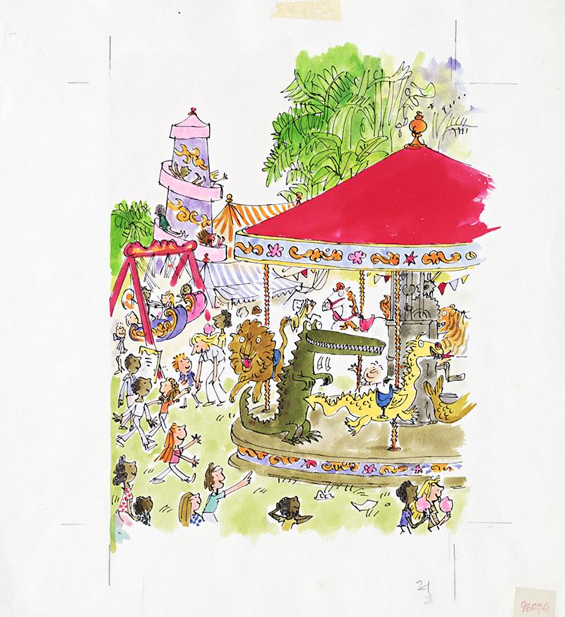 'The Enormous Crocodile' by Roald Dahl (1978), - KT&G 상상마당 제공