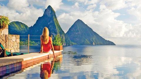 여기서 잠깐 쉬자, 바다와 하나가 되는 카리브해 호텔