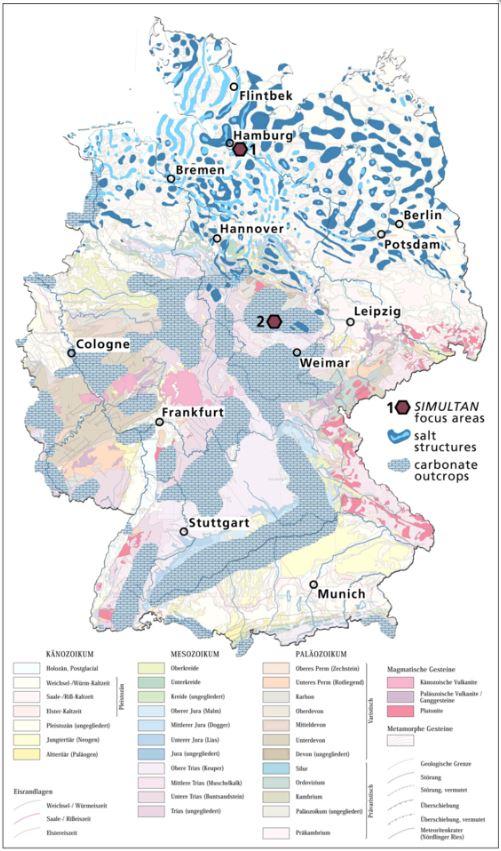 GFZ는 싱크홀 발생이 우려되는 독일 북부를 집중적으로 연구하고 있다. - GFZ 제공