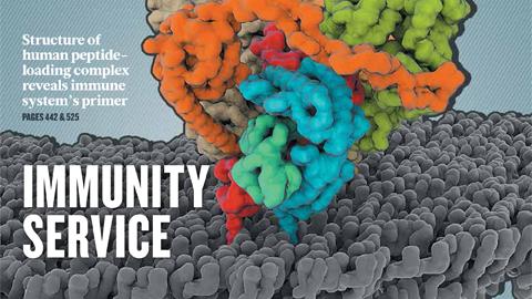 [표지로 읽는 과학 - 네이처] 극저온전자현미경으로 관찰한 바이러스 면역 반응