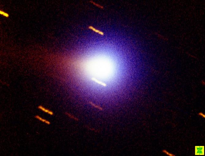 비르타넷 혜성의 모습 - 한국천문연구원 제공