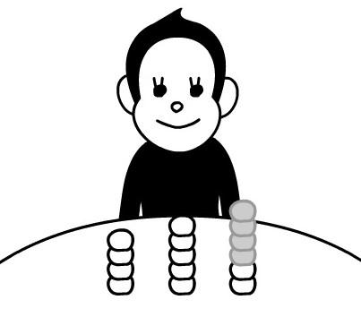 위의 링크에서 원숭이와 NIM 게임을 해 보자. 수학적으로 전략을 쓰면 반드시 이길 수 있는 방법이 있다.