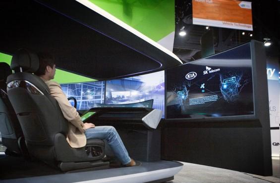[CES2018]'자율車 선점하라'…車·전자·반도체회사 '합종연횡' 후끈