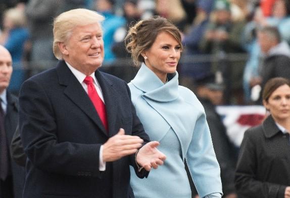 Pvt. Gabriel Silva (2017). 멜라니아 트럼프. 그녀는 도널드 트럼프의 세번째 아내지만, 그녀에게 도널드 트럼프는 첫번째 남편이다. - wikimedia(cc) 제공