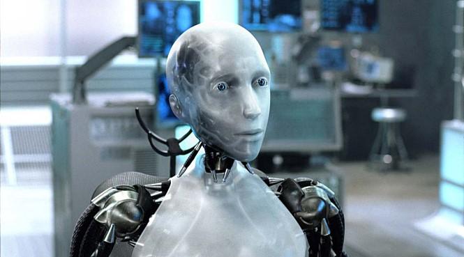 NC-5 로봇과 달리 지능이 뛰어나고 감정을 이해할 줄 알았던 로봇 '써니' - 영화 아이로봇(I, Robot, 2004) 스틸컷 제공