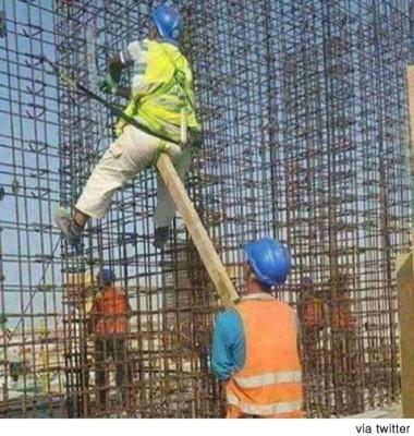 고통스러운 노동 현장