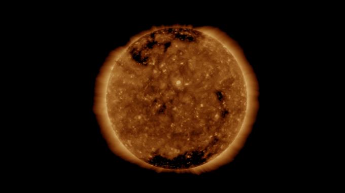 우주환경 관측위성인 SDO (Solar Dynamics Observatory) 실시간 태양 영상 캡쳐