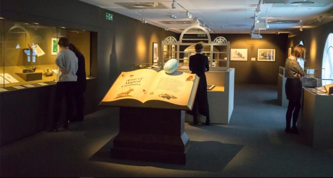 영국에서 열린 '해리포터:마법의 역사' 전시 – 영국국립도서관 제공