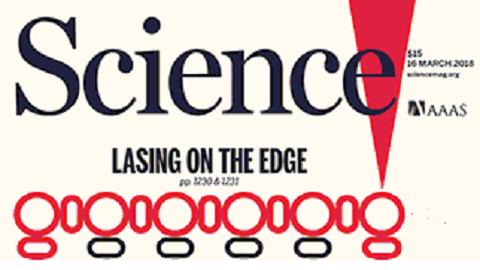 [표지로 읽는 과학] 응집물질 위상절연체로 고효율 레이저를 만든다
