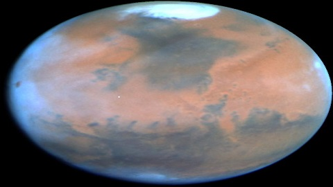 37억년 전, 화성에도 바다 있었다