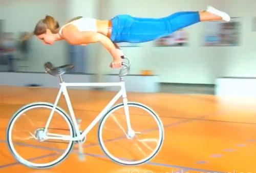 세계 최고 수준의 자전거 묘기