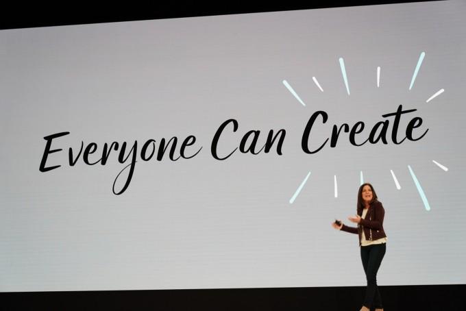모두가 코드를 읽고 쓸 수 있고, 창의력을 자유롭게 표현할 수 있도록 하겠다는 것이 애플의 목표이다. - 최호섭 제공