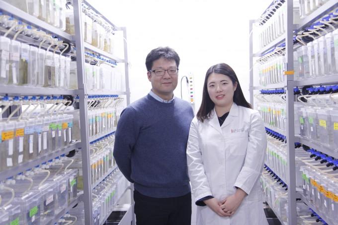 이윤성 IBS 유전체향상성 연구단 책임연구원과 송혜인 연구원. 오가희 기자 solea@donga.com