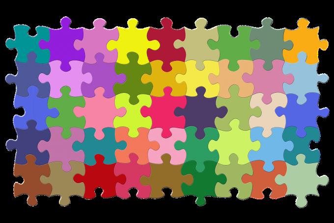 쉽게 말하자면 퍼즐이다 출처 : CC BY geralt