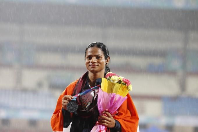 인도의 육상 유망주였던 두티 찬드 출처 : CC BY 22회 아시안 육상선수권 대회