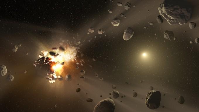 러시아가 소행성 혹파 실험을 진행했다 - NASA,JPL-Caltech