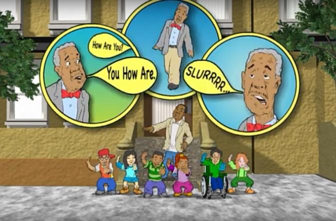 'Stroke Aint No Joke(뇌졸중은 장난이 아니야)' 뮤직비디오 캡처. -Hip Hop Public Health 제공