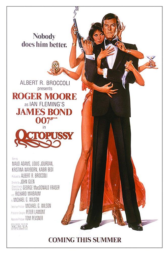 영화 007 옥토퍼시 포스터 - imdb 제공