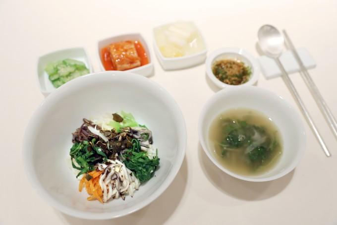 DMZ산나물로 만든 비빔밥