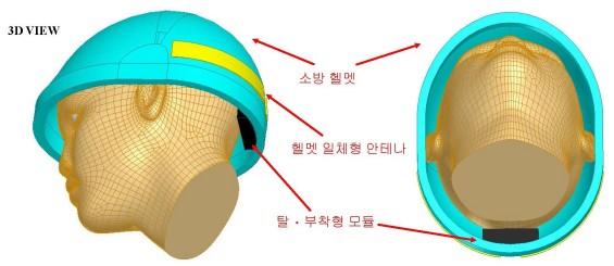 통신 문제로 골든타임 놓치지 않게...무전기 내장 소방 헬멧 개발