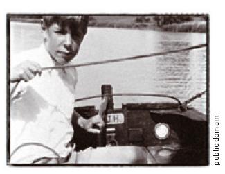 스티븐 호킹의 어린시절 - public domain 제공