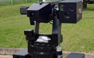 SGR-A1. 한화 테크윈 (구 삼성 테크윈)에서 개발한 무인 경계로봇 - wikipedia 제공