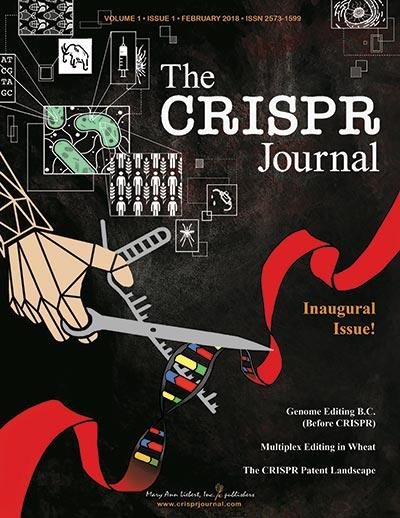 '더 크리스퍼 저널(The CRISPR Journal)' 창간호인 2월호 표지. - 매리앤리버트 제공
